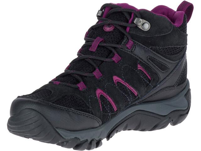 Merrell Outmost MID Vent GTX Shoes Damen black